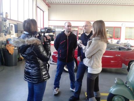 antenna 3 intervista f.lli Marin