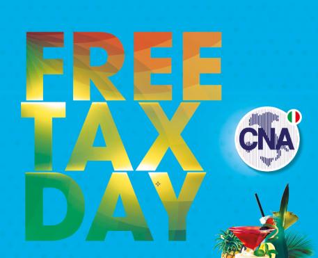 Tax Free Day a Castelfranco: aperitivo gratis per tutti