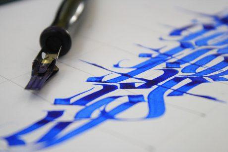 Laboratorio di calligrafia ad Asolo