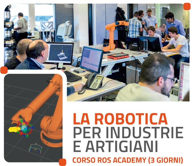La Robotica per industrie e artigiani