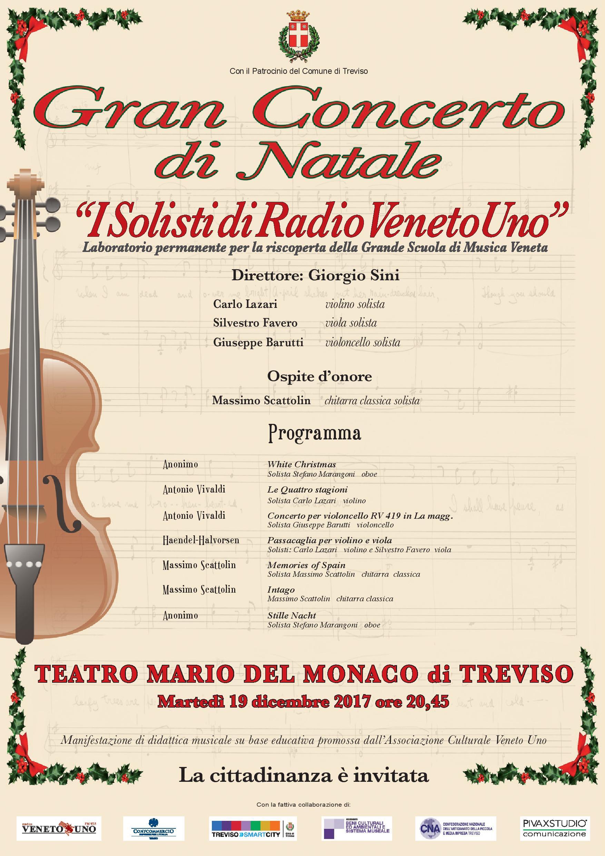 I Solisti di Radio Veneto Uno in Gran Concerto di Natale