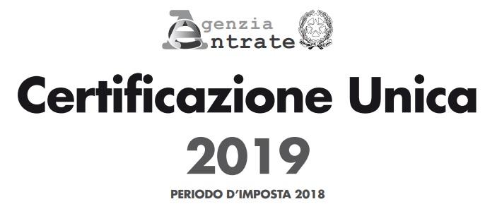 Certificazione Unica 2019, scadenza il 7 febbraio per l'affidamento incarico al centro servizi CNA di Treviso