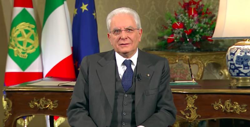Discorso di fine anno del Presidente Sergio Mattarella