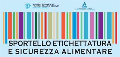 Nuovo Sportello Etichettatura e Sicurezza Alimentare in CCIAA a Treviso