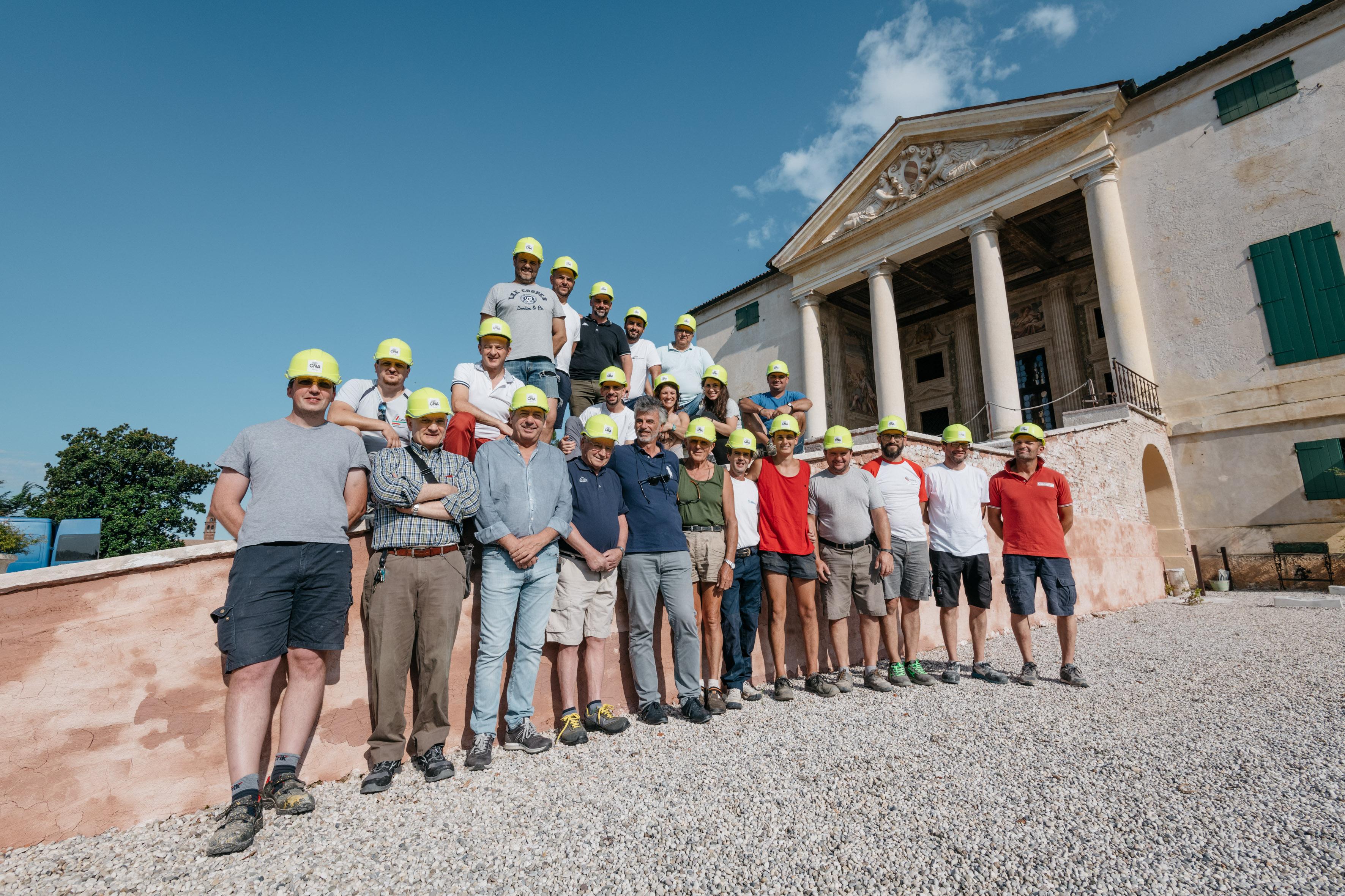 Villa Emo, ecco il team che ha lavorato al restauro. BRAVI!
